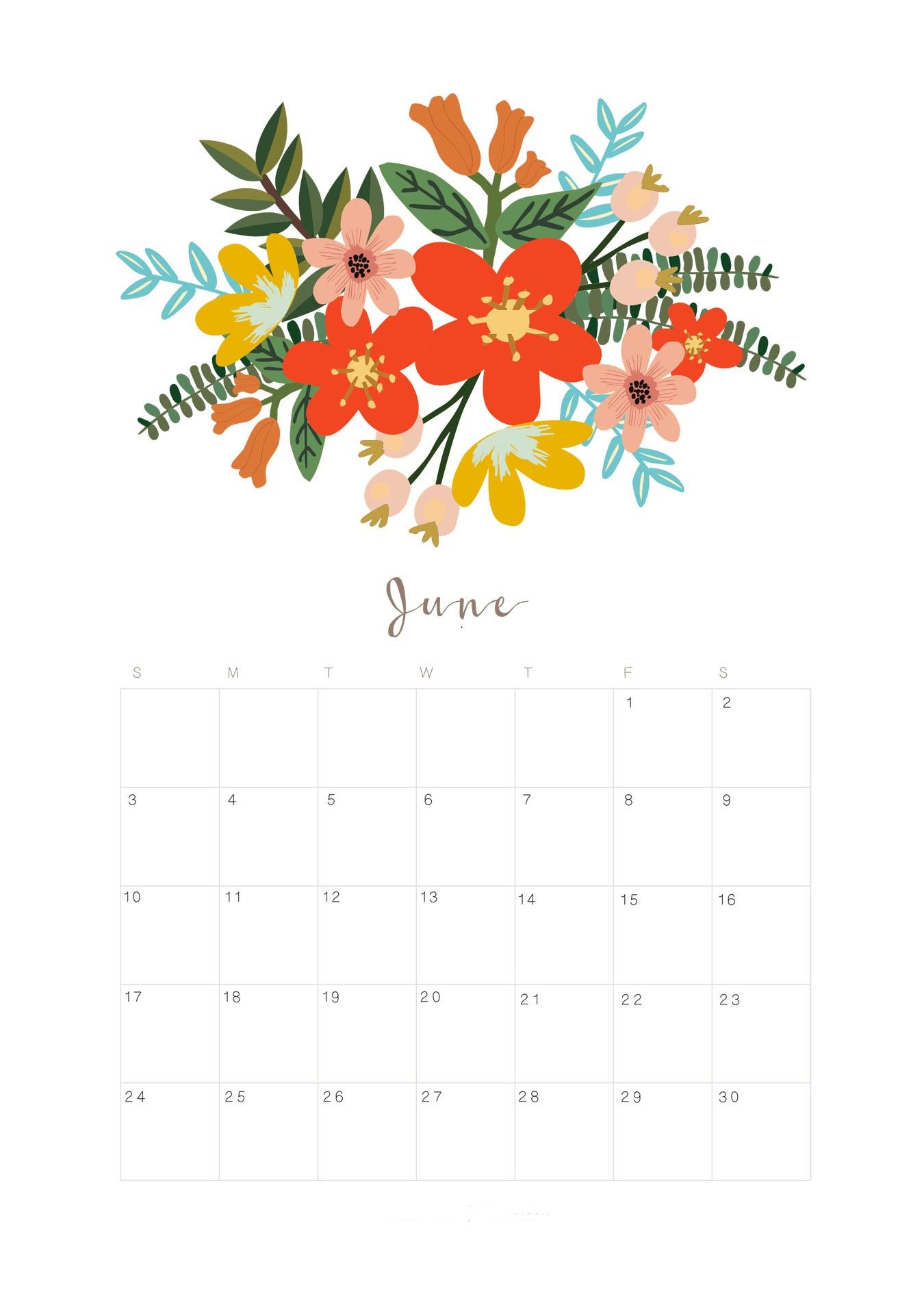 June 2018 Calendar Australia - Free Printable Template throughout Calendar June Template Australia