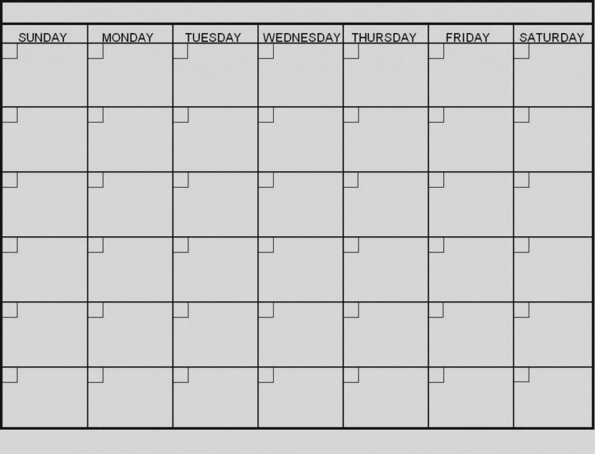 Latest Blank 6 Week Calendar Template Printable 2 Planner 2018-6 with 6 Week Blank Schedule Template