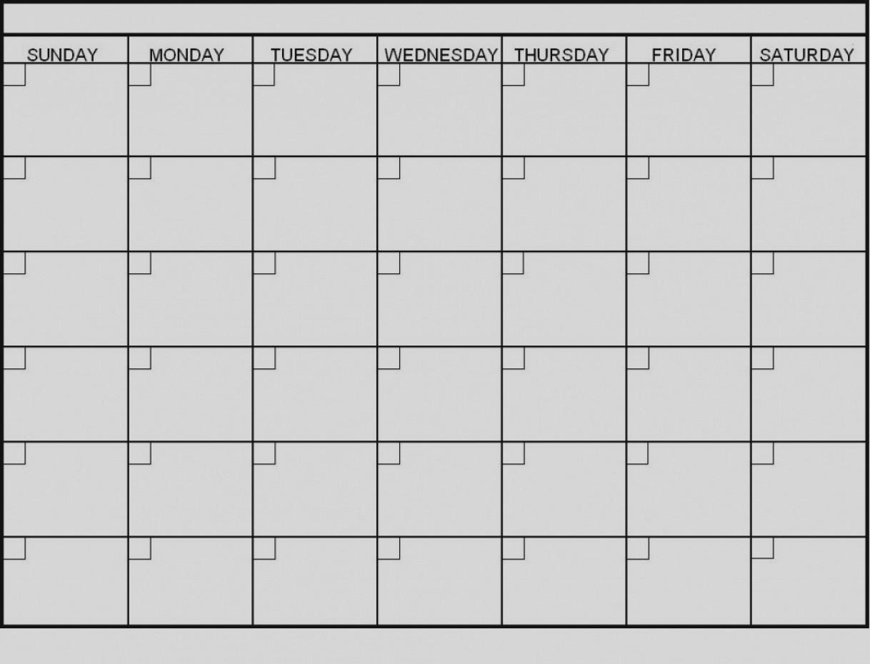 Latest Blank 6 Week Calendar Template Printable 2 Planner 2018 inside 6 Week Printable Blank Calendar