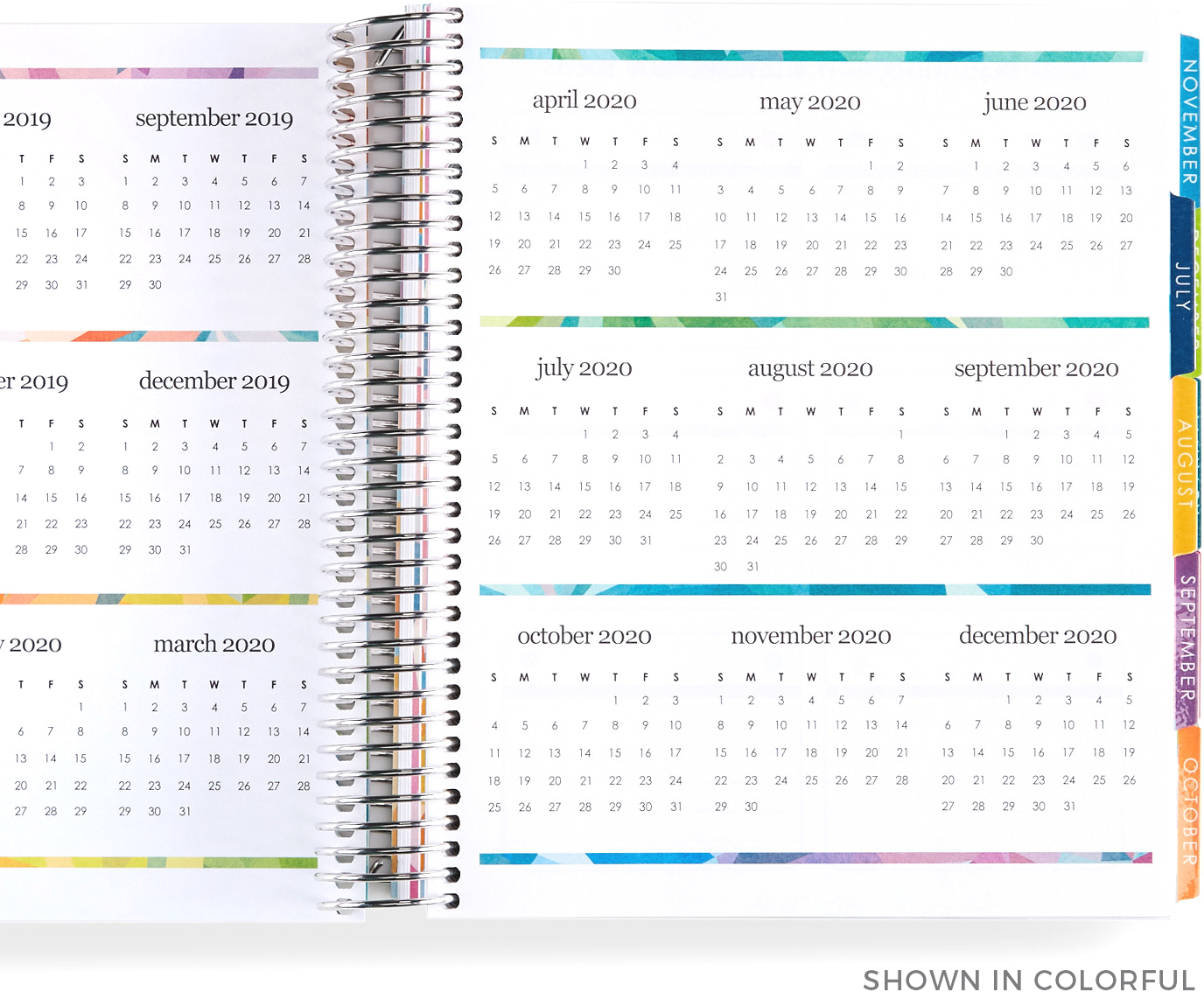 Learn More About Lifeplanner™ | Build Your Own | Erin Condren in 2029 2020 Year At A Gllance Calendar