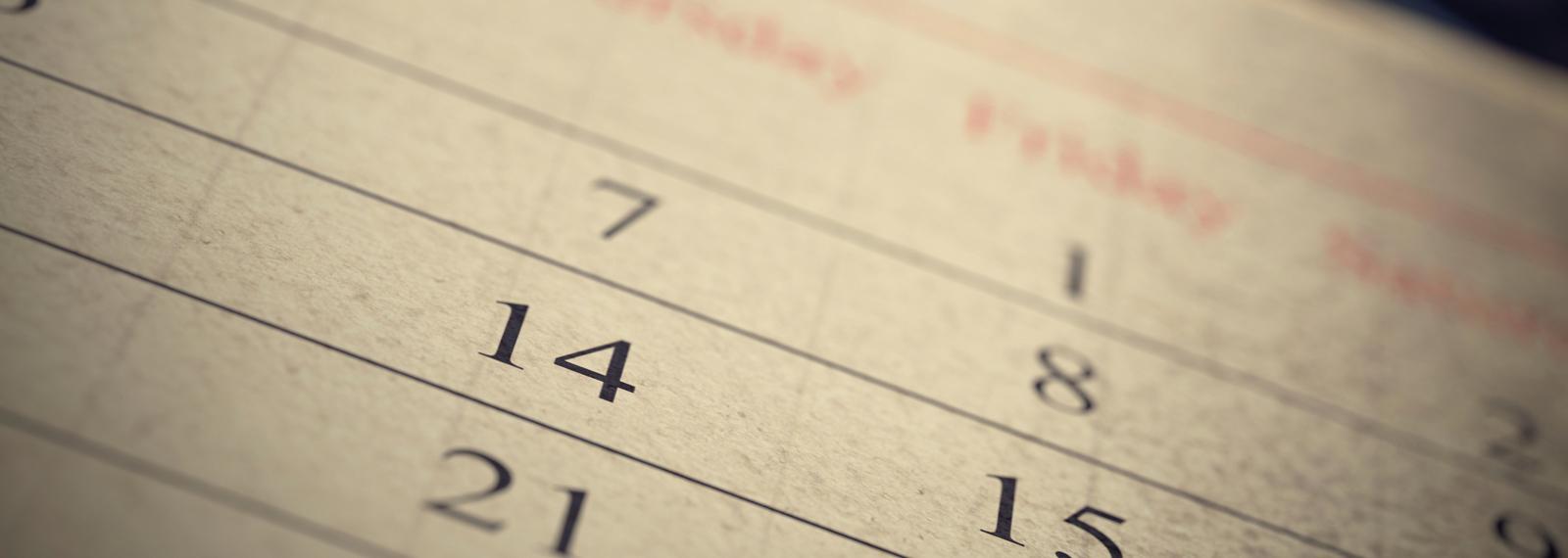 Liturgical Calendar within Catholic Liturgical Calendar Year C 2019-2020