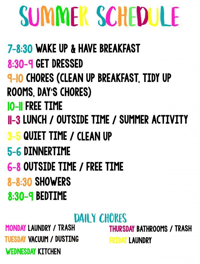 Lovely 35 Sample Summer Calendar Template | Blank Calendar Templates in Summer Schedule Template For Kids