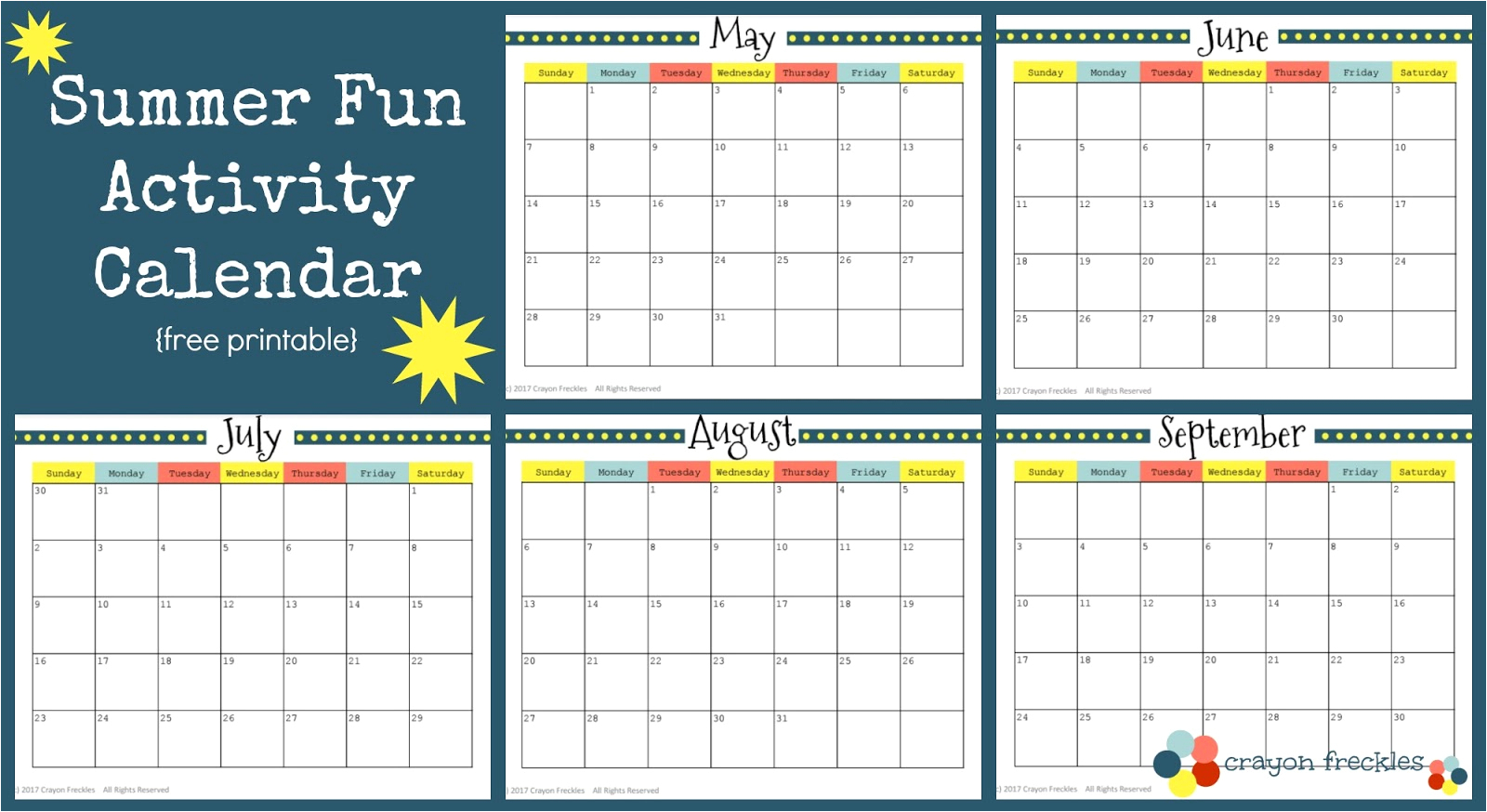 Lovely 35 Sample Summer Calendar Template | Blank Calendar Templates within Summer Activity Calendar Template