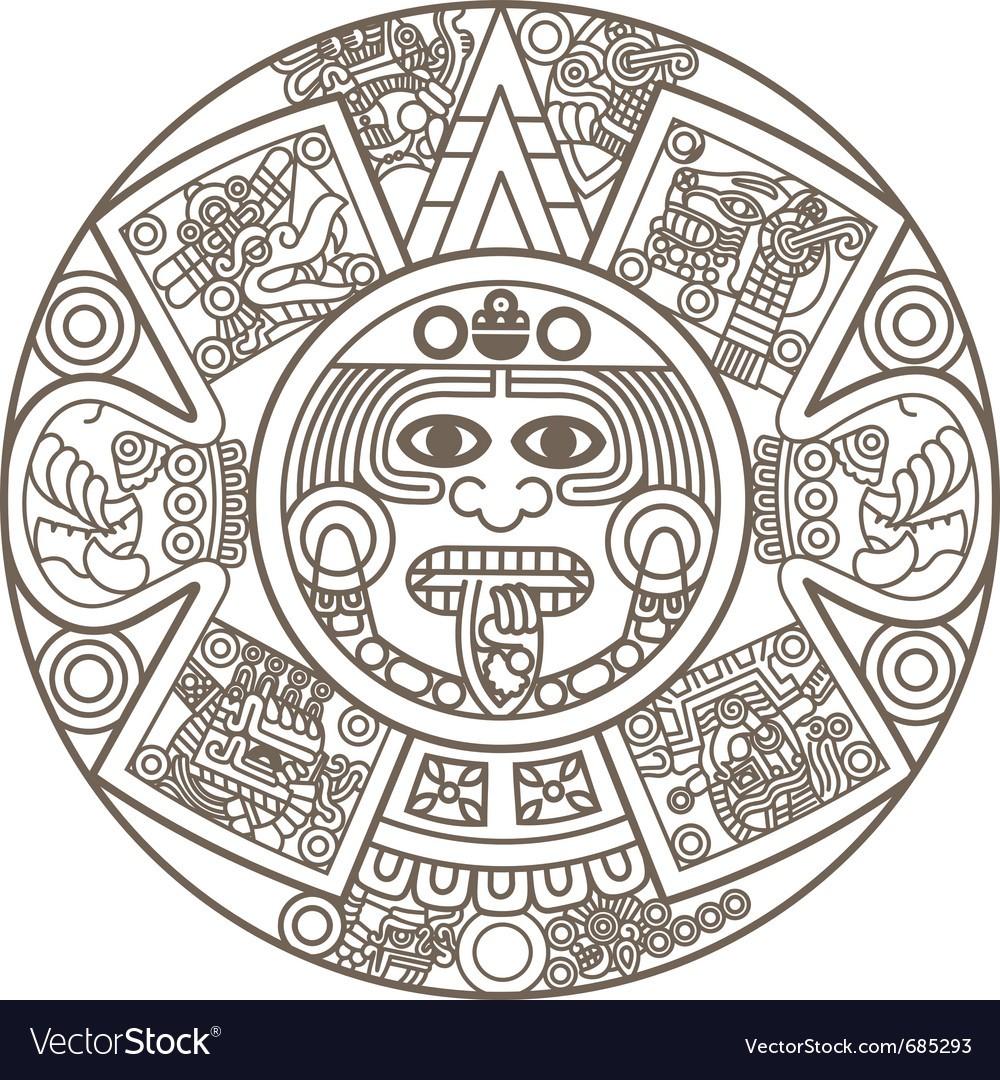 Maxresdefault At How To Make An Aztec Calendar - Free Calendar throughout Aztec Calendar Printable Template