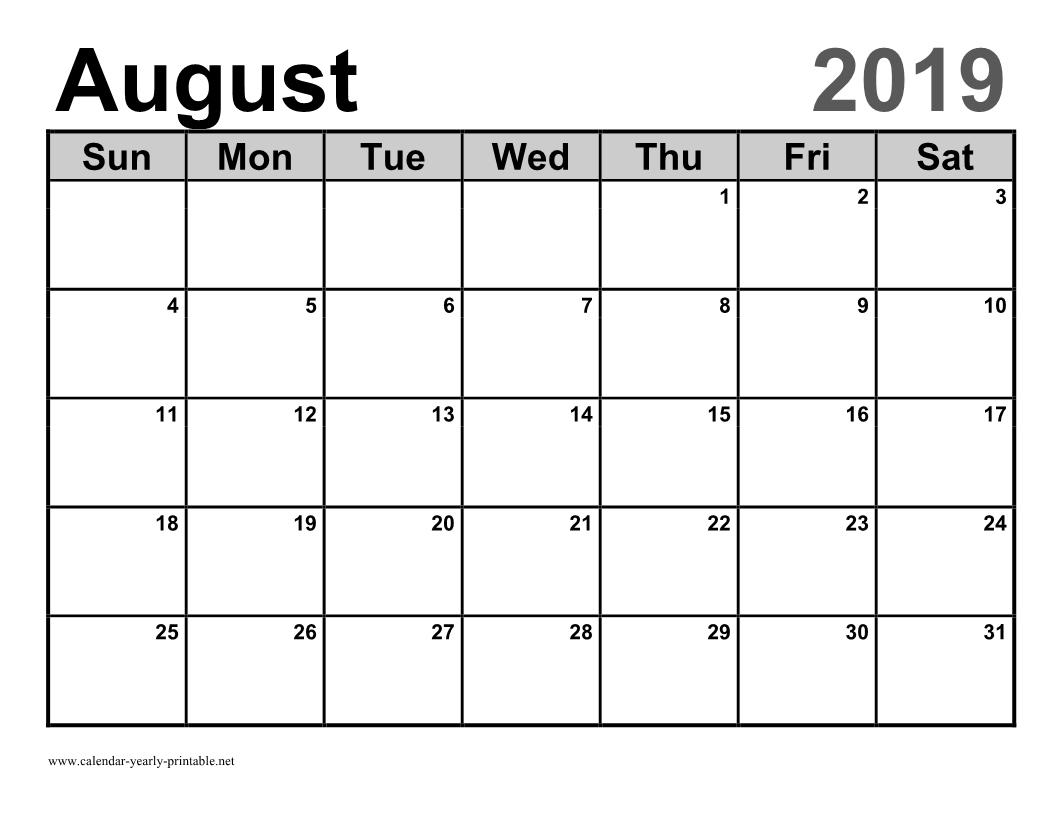 Monthly Calendar Template [12 Month Calendar] - Calendar Yearly inside Mini Blank June And July Calendar