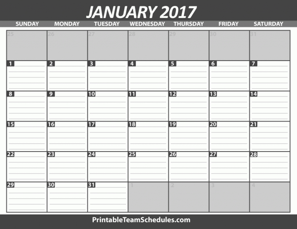 Monthly Calendar With Lines – Calendar Printable Week pertaining to Blank Monthly Calendar With Lines