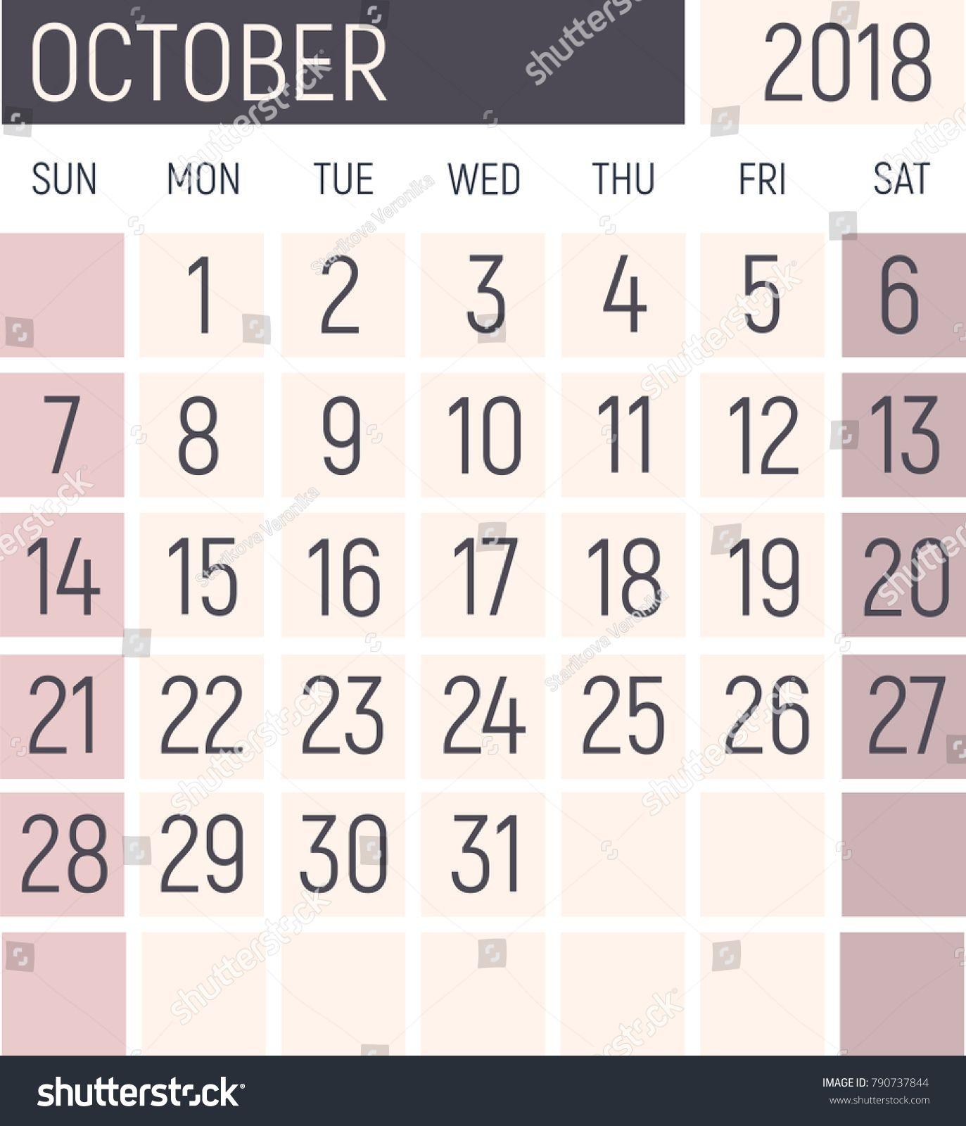 Null Printable Calendar November 2018 | Calendar Format Example inside Null Blank Calendar To Print