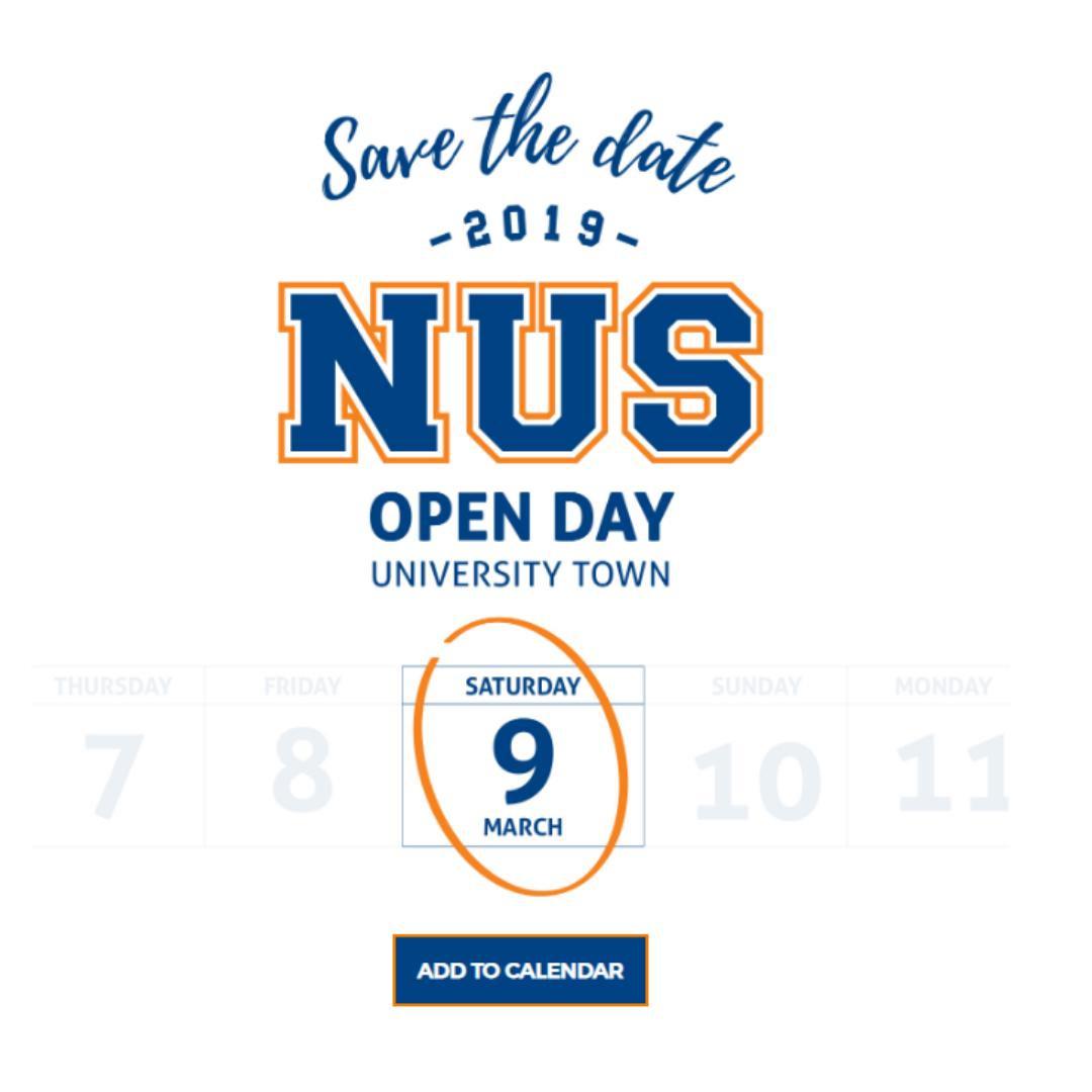 Nus Admissions (@nusadmissions) | Twitter pertaining to Nus 2019 2020 Academic Calendar