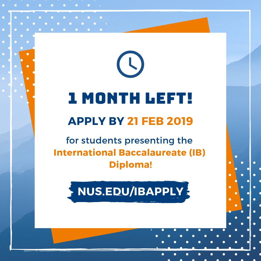 Nus Admissions (@nusadmissions) | Twitter with Nus 2019 2020 Academic Calendar