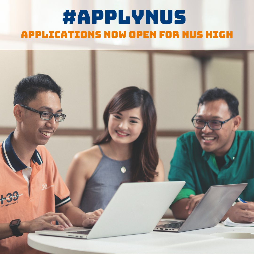 "Nus Admissions On Twitter: ""application For Undergraduate Admission throughout Nus School Term 2019 2020"