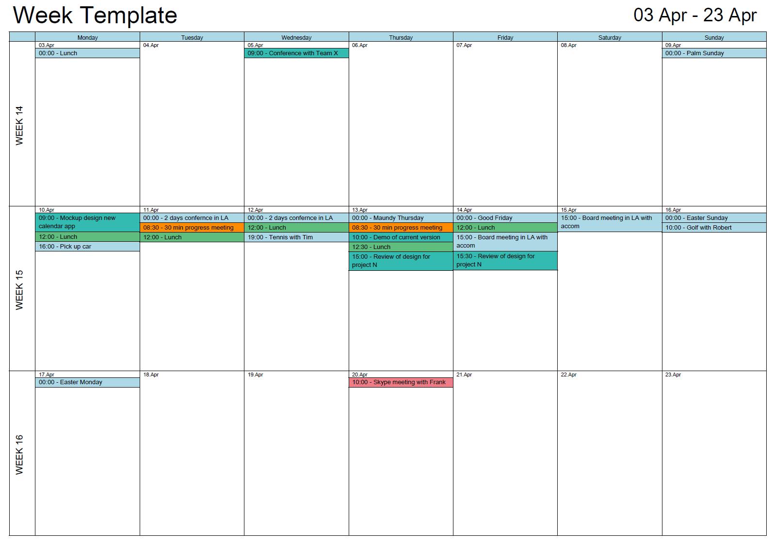 Outlook Printable Calendar In A4/a3 | Outlook Calendar Print with Outlook Calendar Template 5 Week