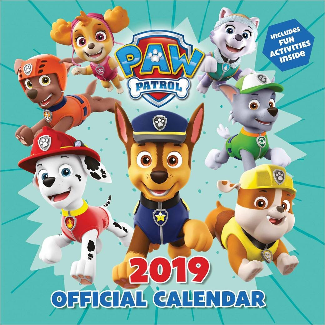 Paw Patrol - Calendars 2020 On Ukposters/abposters for Free Calendar For 2020 Peclia.com