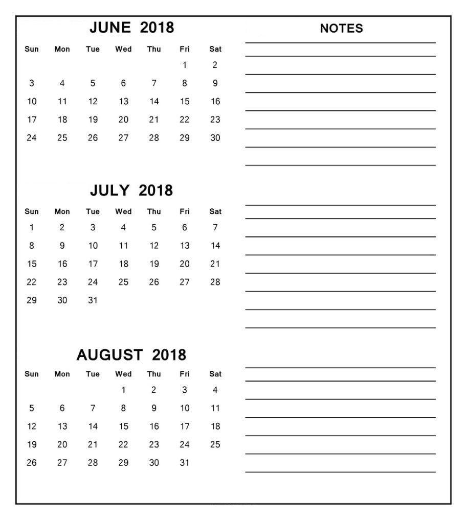 Pinbarkha Rani On June July August 2018 Calendar | July Calendar inside Blank Calendar June July August
