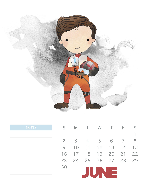 Pintrentlinda2014 On Star Wars | Free Printable Calendar, Free in Star Wars Templates Printables Calendar