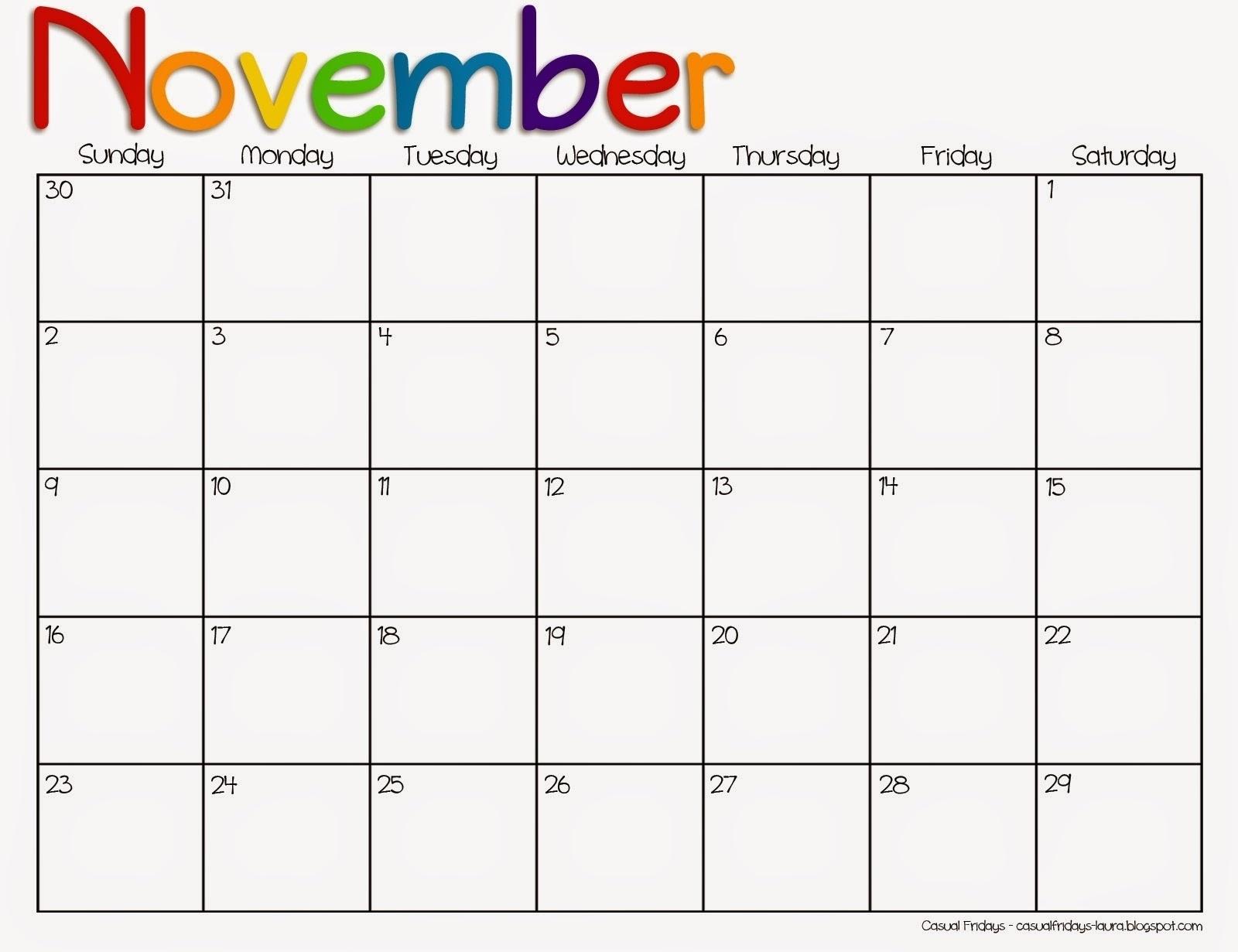 Pre K Monthly Calendar • Printable Blank Calendar Template with regard to August Calendar Template For Pre K