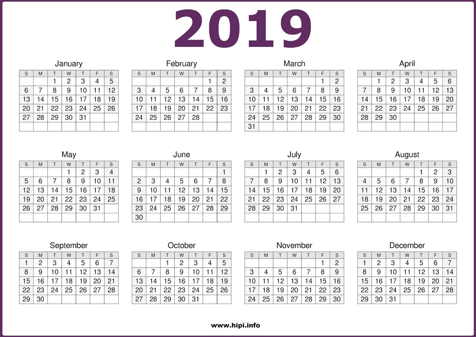 Printable 2019 Calendar Nsw | Printable Calendar 2019 intended for Calendar October 2019 Nsw Printable