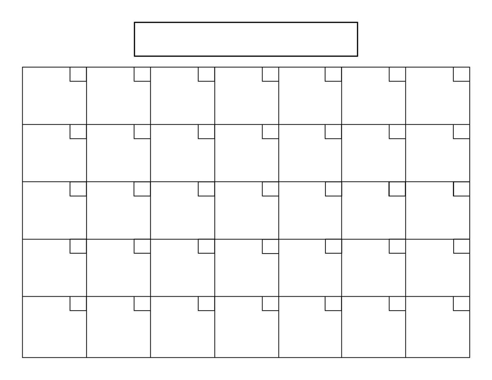 Printable 5 Day Calendar Blank Calendar Template 5 Day Week 0 8 With with Blank Calendar Printable 5 Day