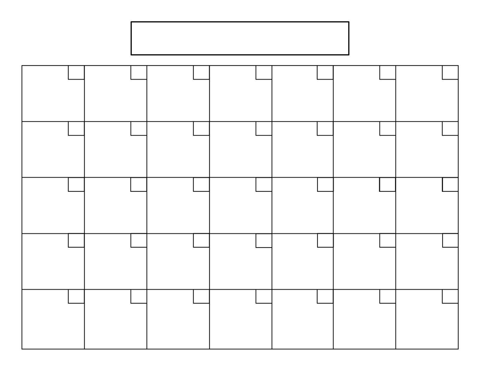 Printable 5 Day Calendar | Wwwww | Printable Blank Calendar, Blank with 5 Day Calendar Template Free