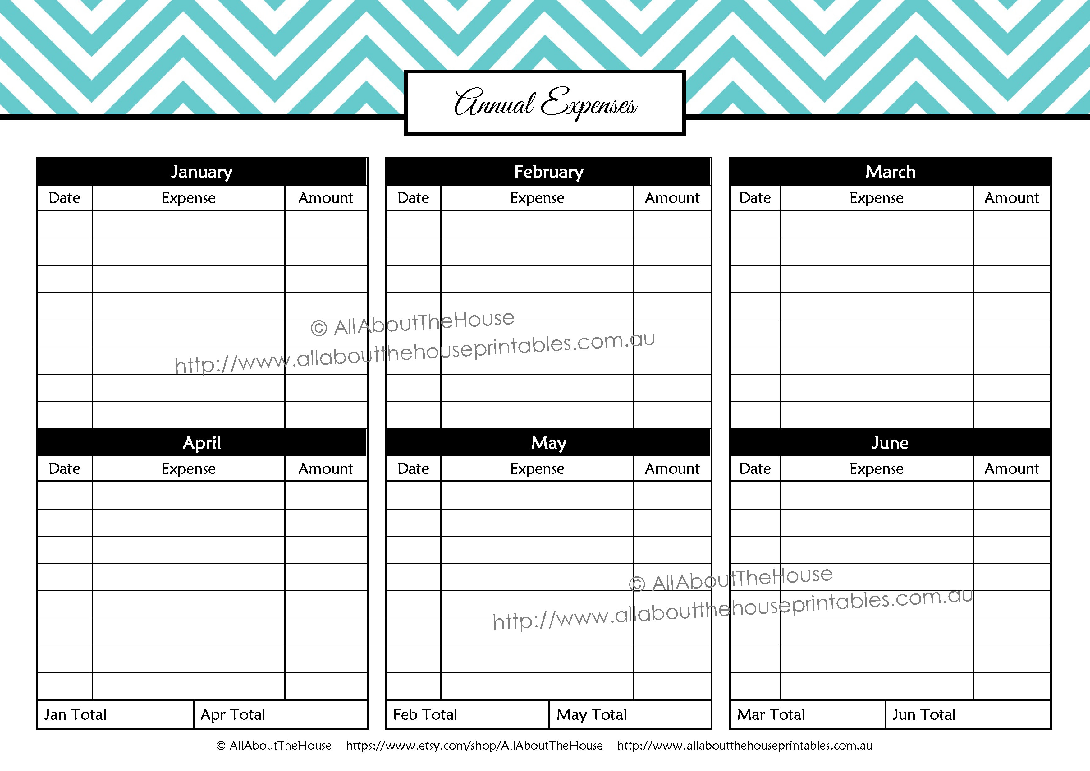 Printable Budget Planner/finance Binder Update - All About Planners for Blank Printable Bill Payment Planner