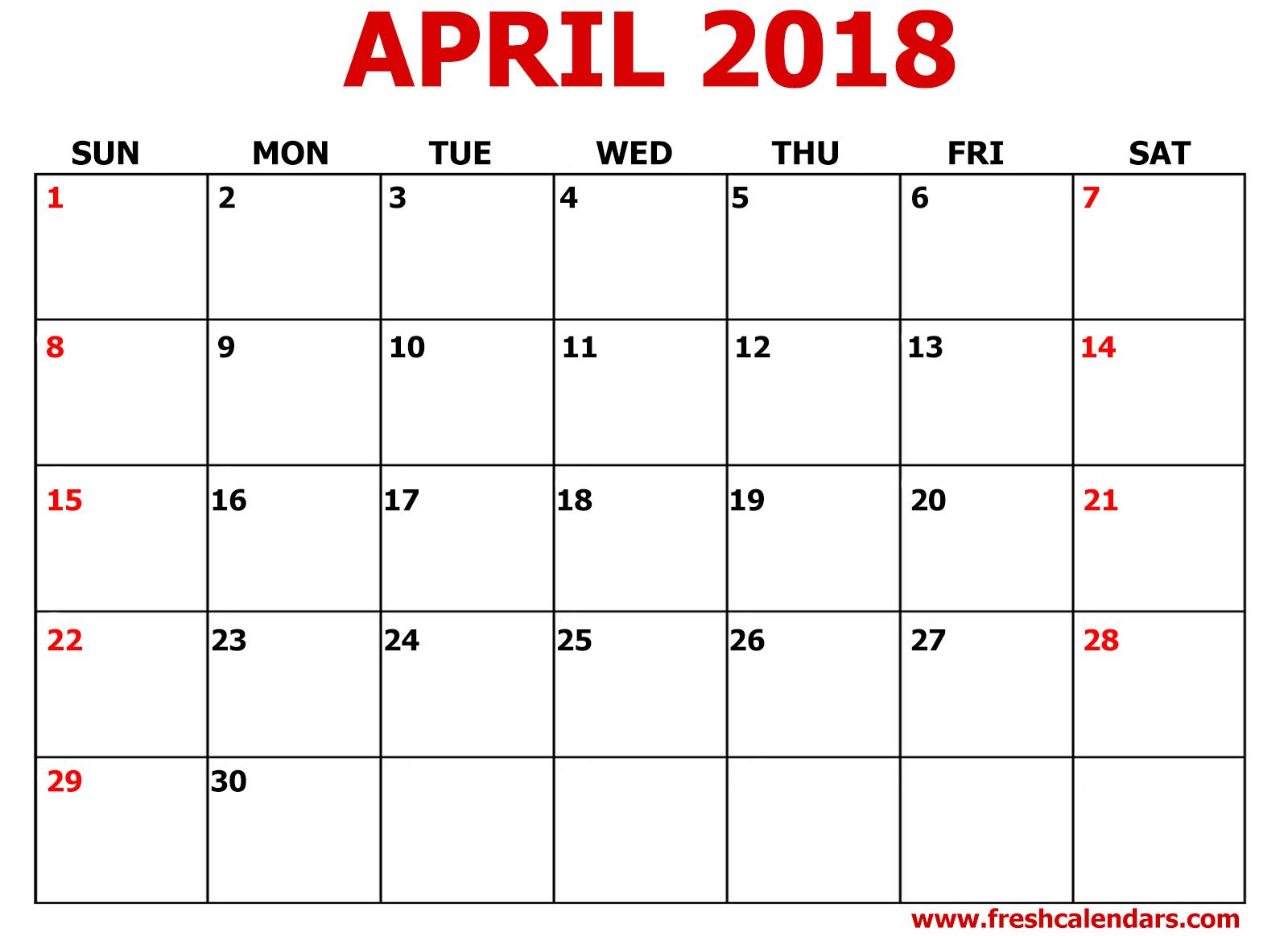Printable Calendar 2018 8 5 X 11 | Printable Calendar 2019 in Free Printable Calendar Templates 8 X 10