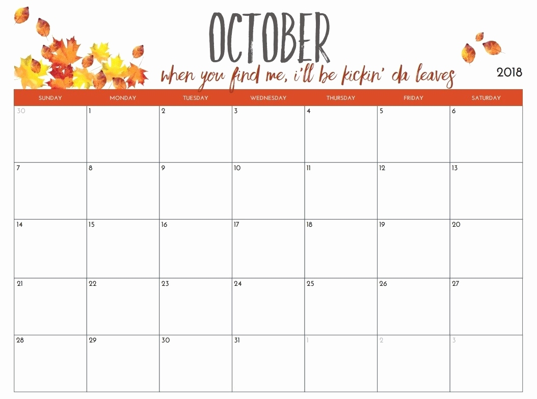 Printable Calendar October | Hauck Mansion with regard to Monday To Sunday Calendar Template October
