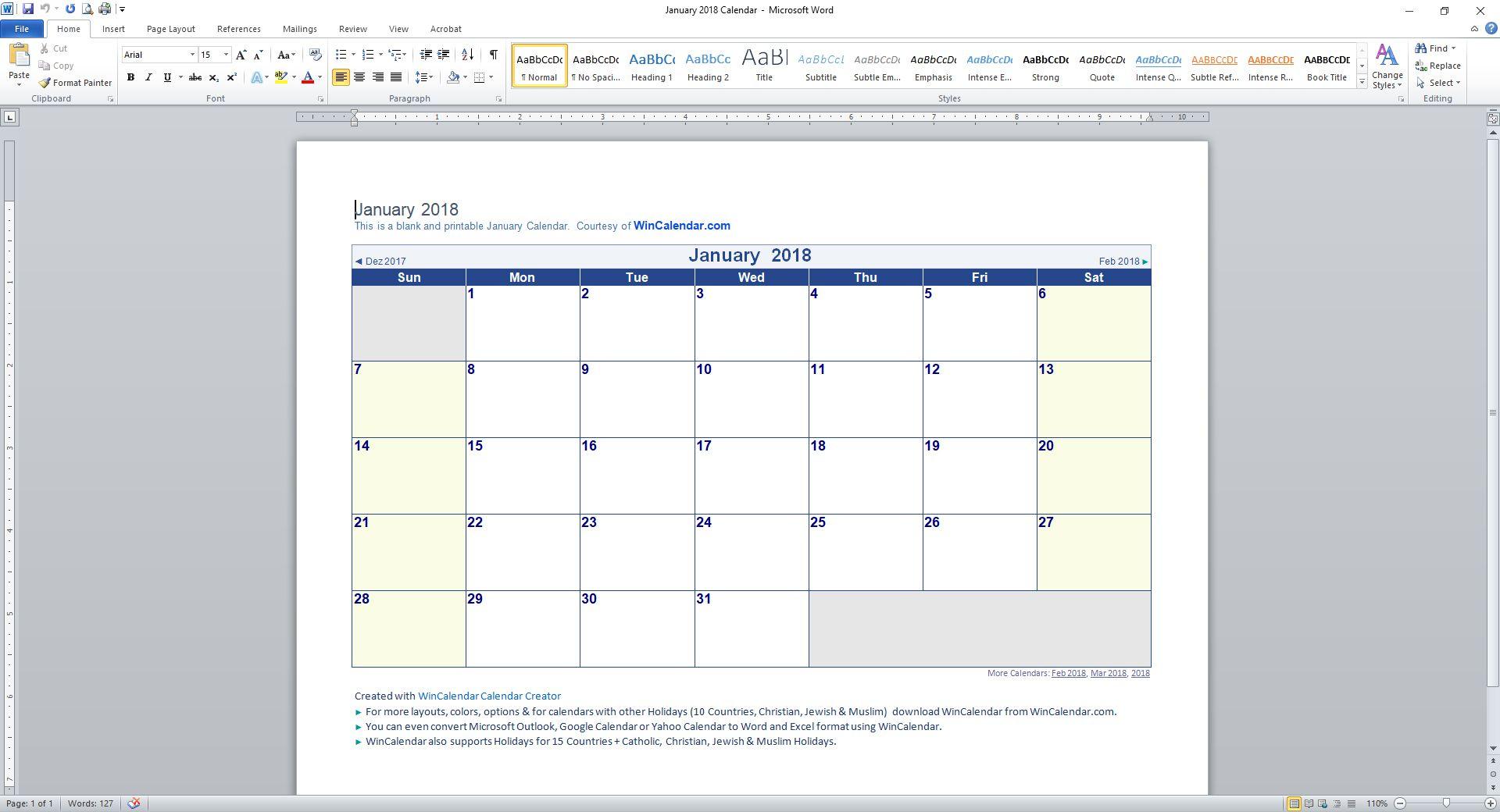 Printable Calendar Weekdays Only | Printable Calendar 2019 intended for Blank Calendar With Only Weekdays