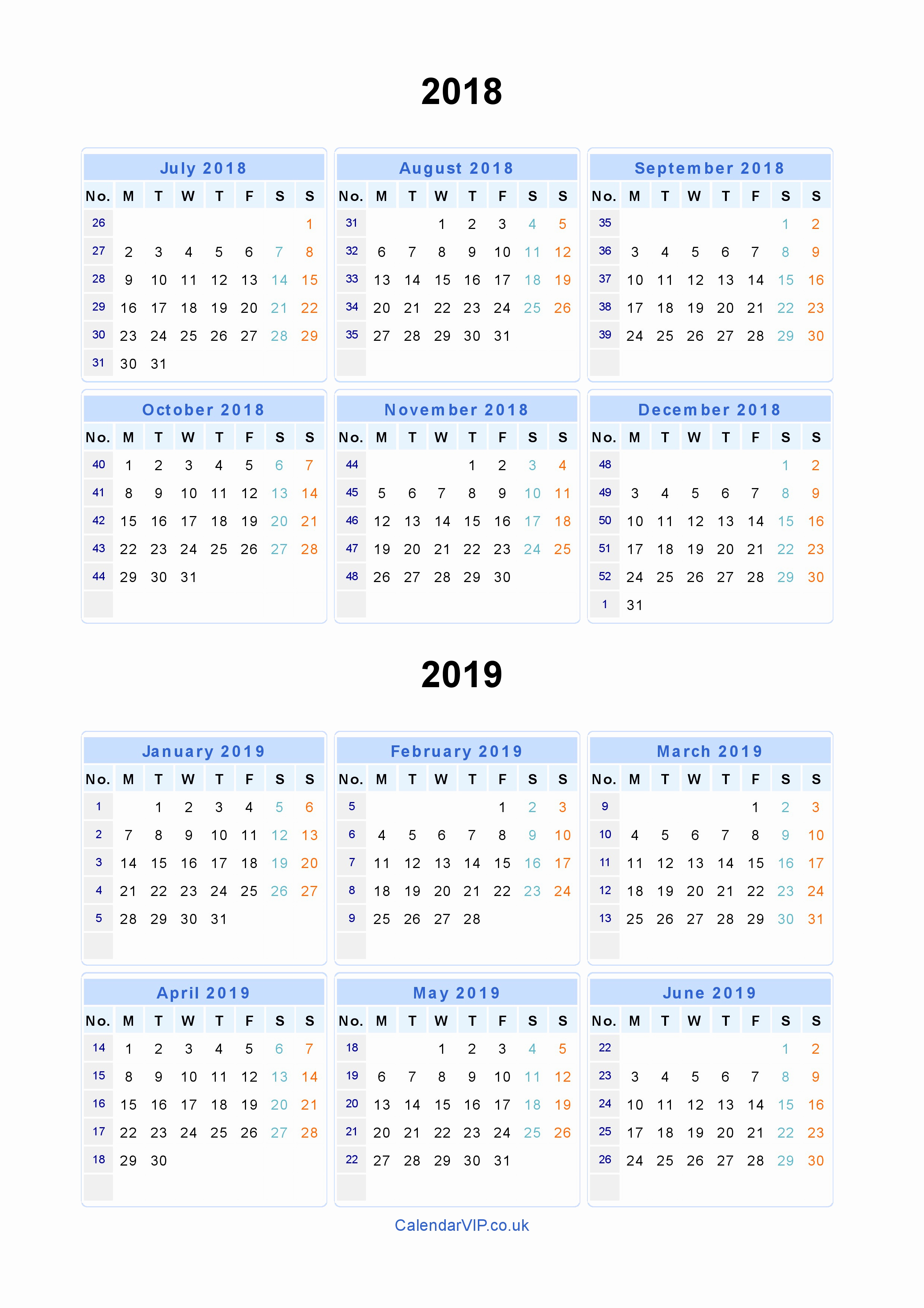 Printable Calendars 2019 Decemberestern-Rewards.html July 2019 intended for Cute Calendar Templates July
