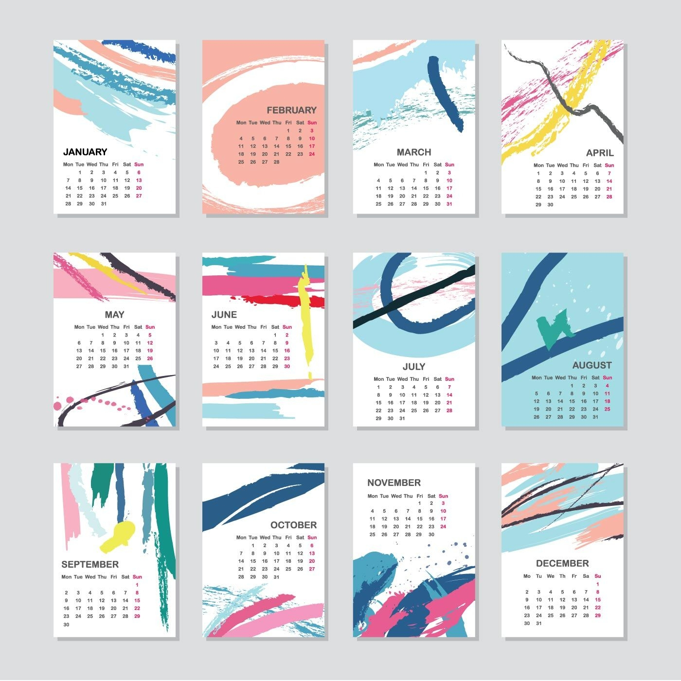Printable Free August 2019 Calendar Template With Clown | Calendar pertaining to Printable Free August Calendar Template With Clown
