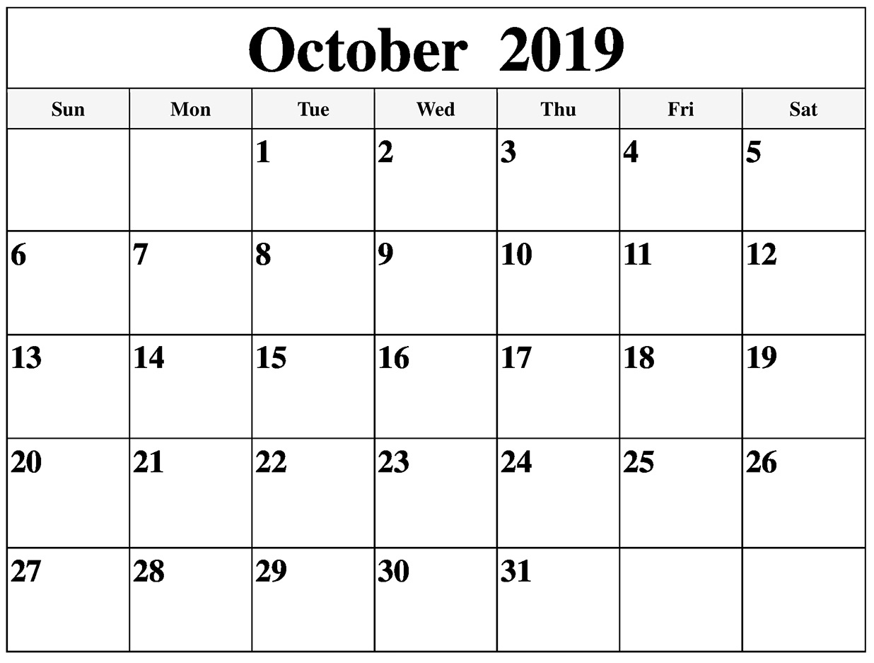 Printable October 2019 Calendar Australia With Holidays | Free pertaining to Calendar October 2019 Australia Images
