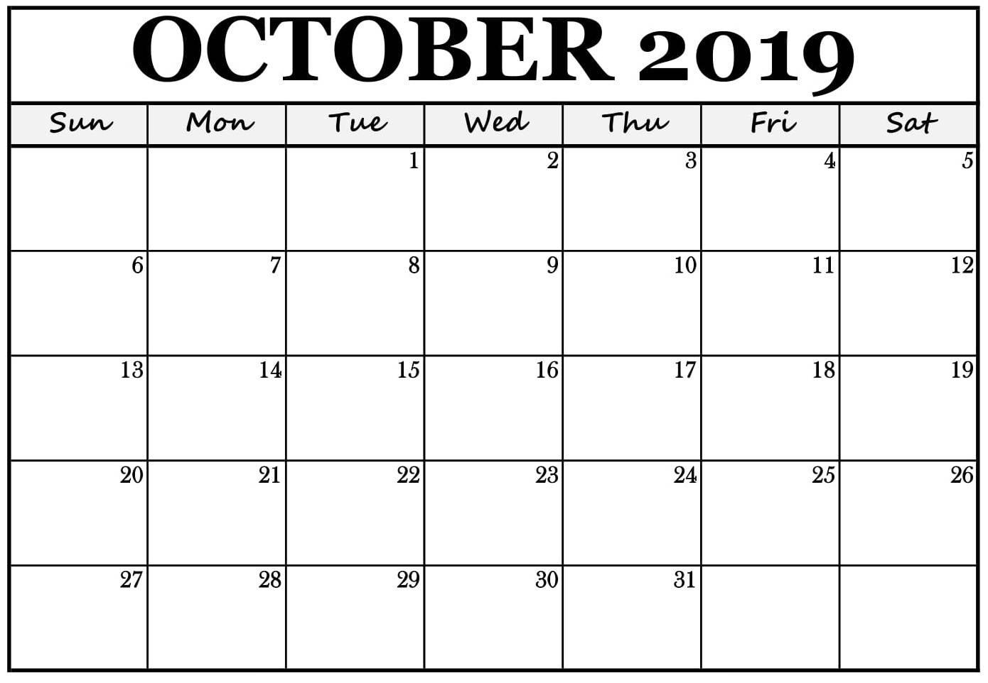 Printable October 2019 Calendar Australia With Holidays | Free regarding Calendar October 2019 Nsw Printable