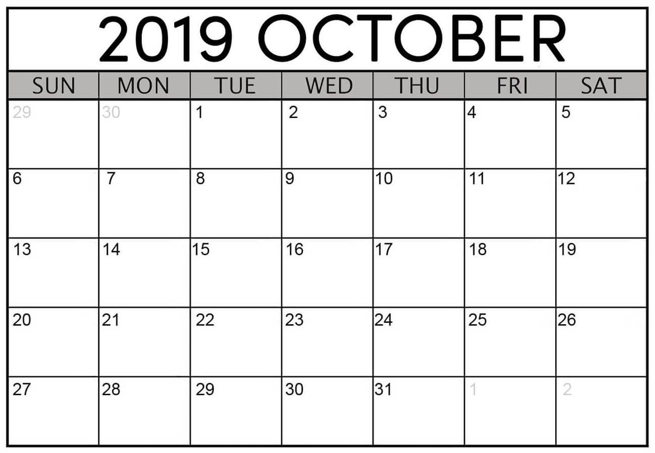 Printable October 2019 Calendar Australia With Holidays | Free with regard to Calendar October 2019 Nsw Printable