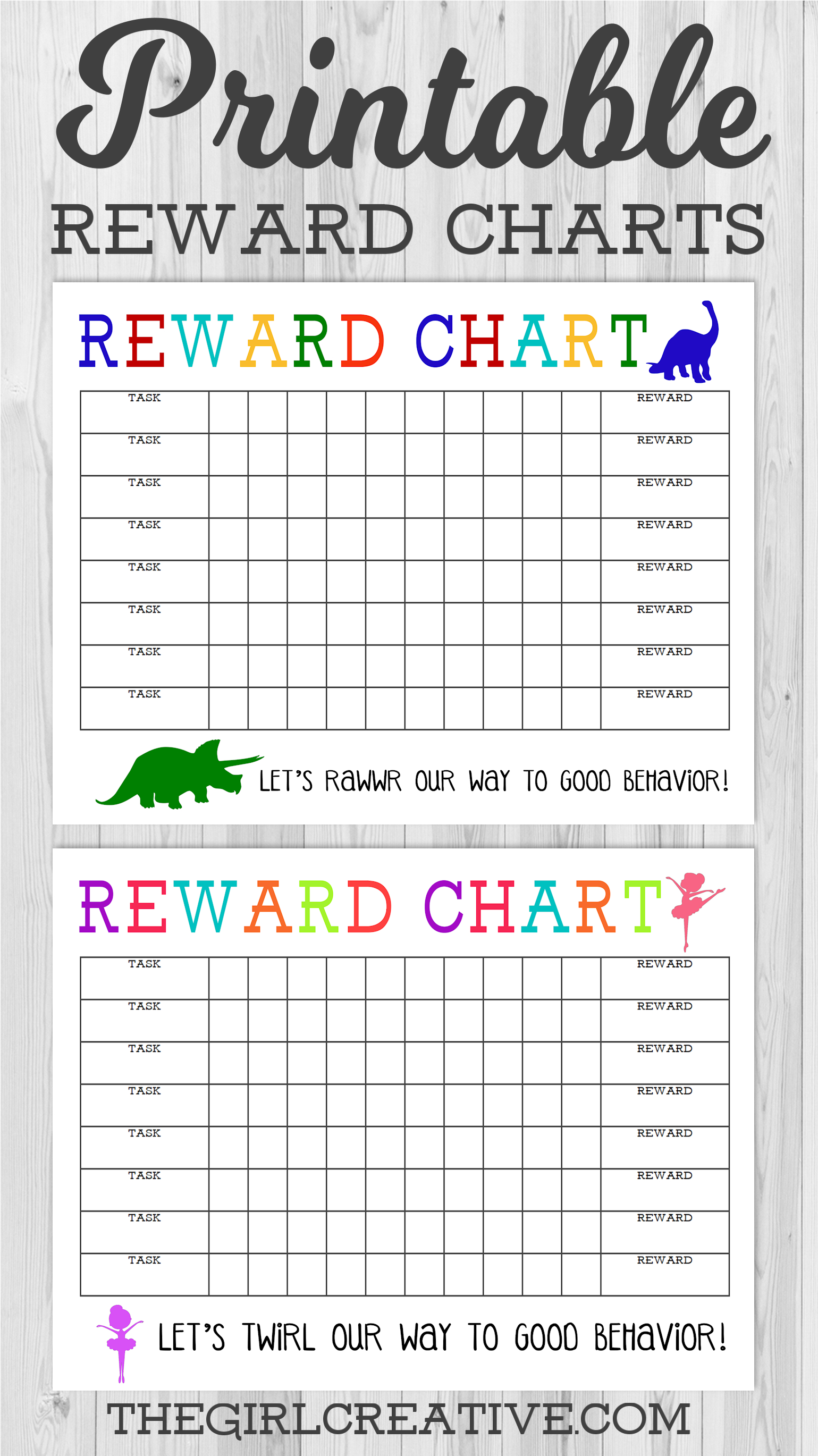 Printable Reward Chart | Share Today's Craft And Diy Ideas inside Behavior Charts For Kids Templates