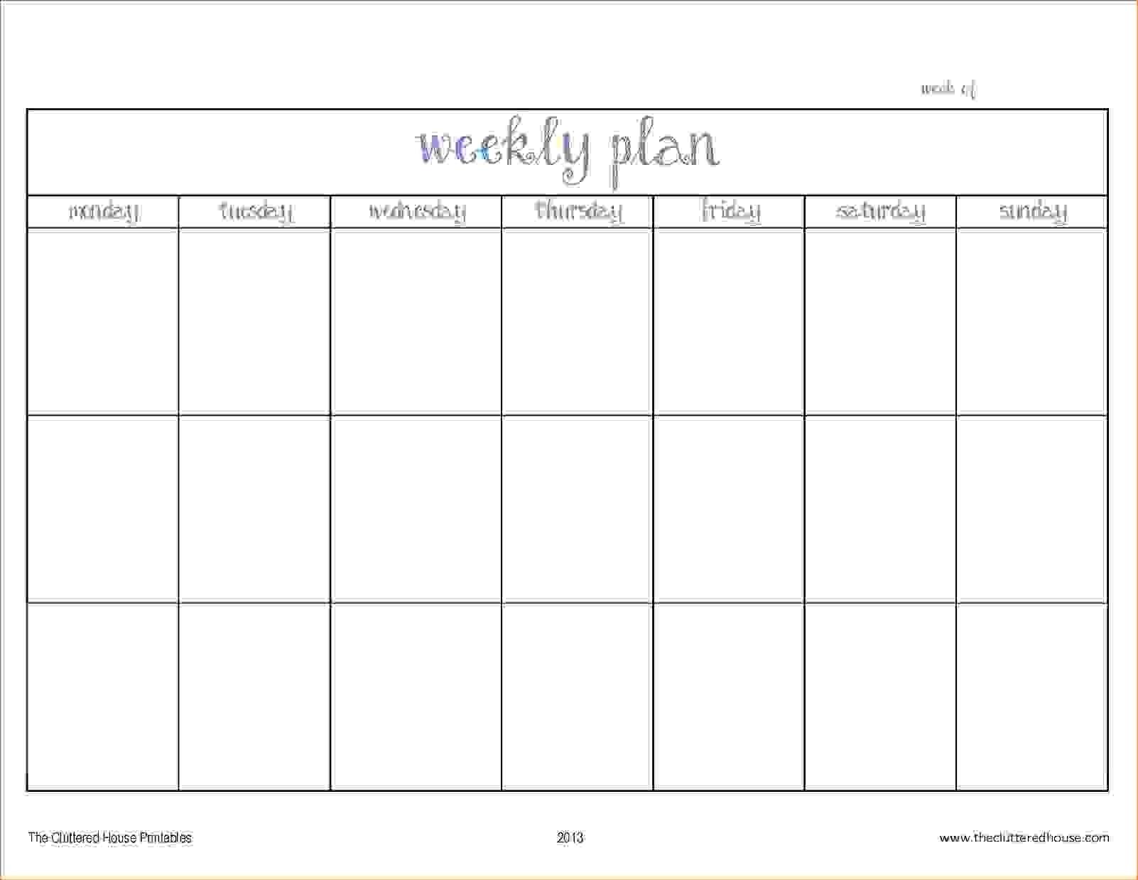 Printable Two Week Calendar Free Blank Template | Smorad inside Two Week Blank Calendar Template