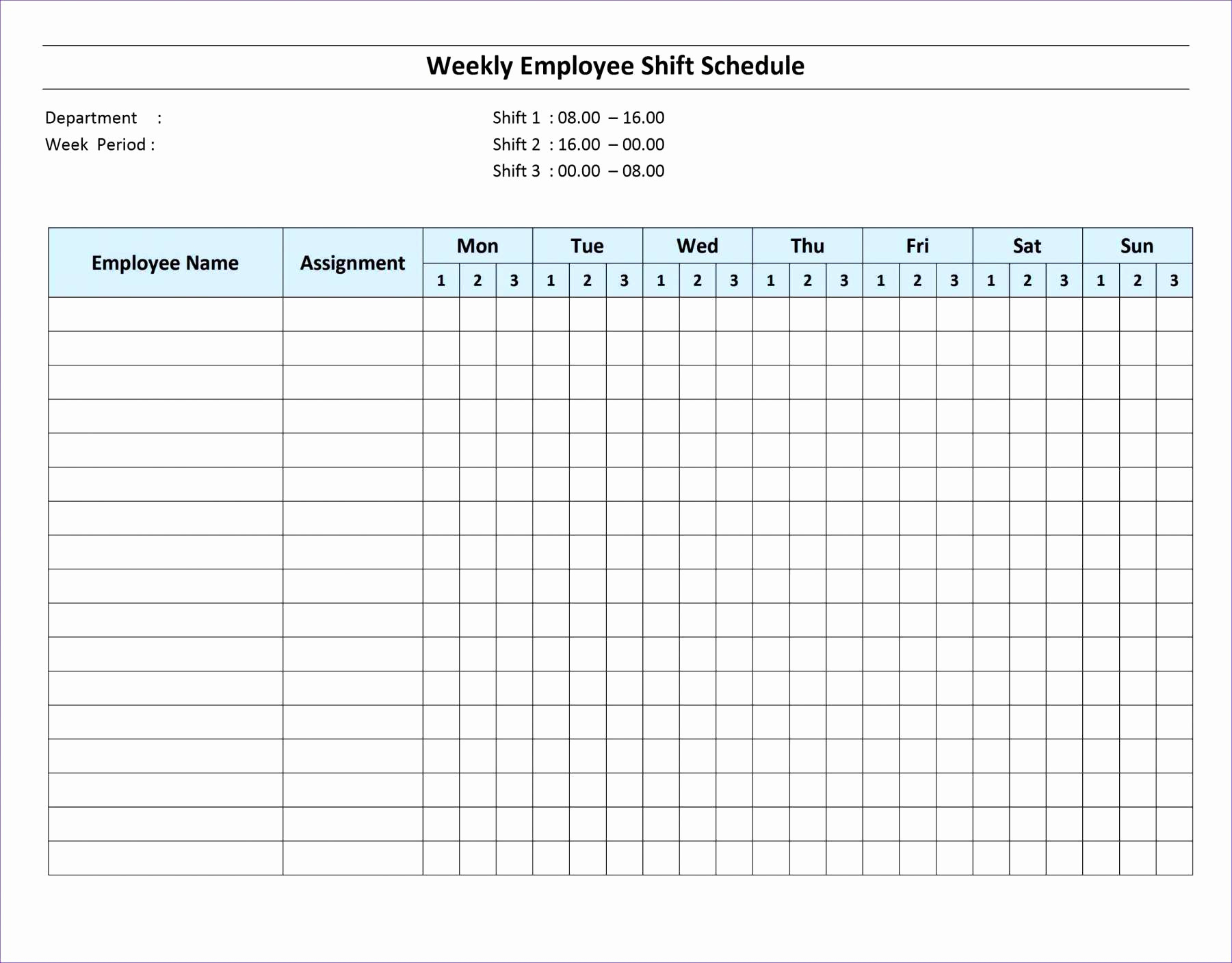 Schedule Template Door And Window Excel Spreadsheet Collections in 3 Day Shift Restaurant Template Sheets Excel