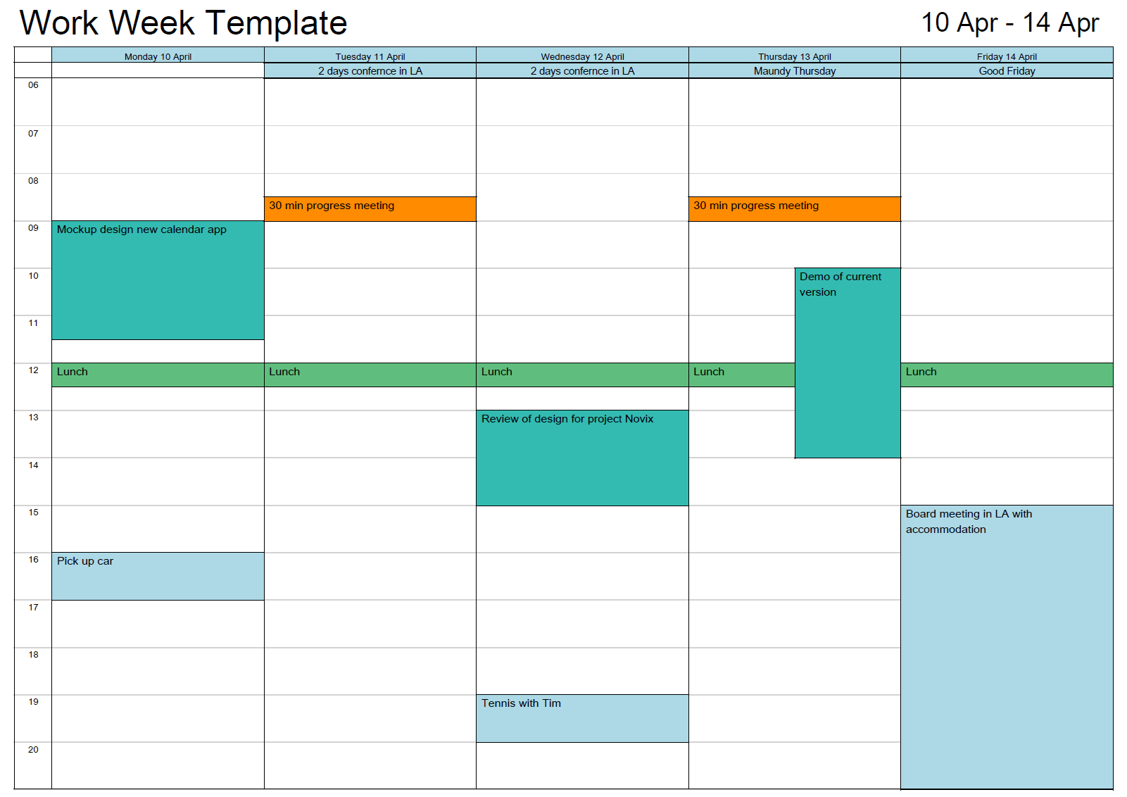 Schedule Template Outlook Printable Calendar In Print Ork Eek Free throughout Outlook Calendar Template 5 Week