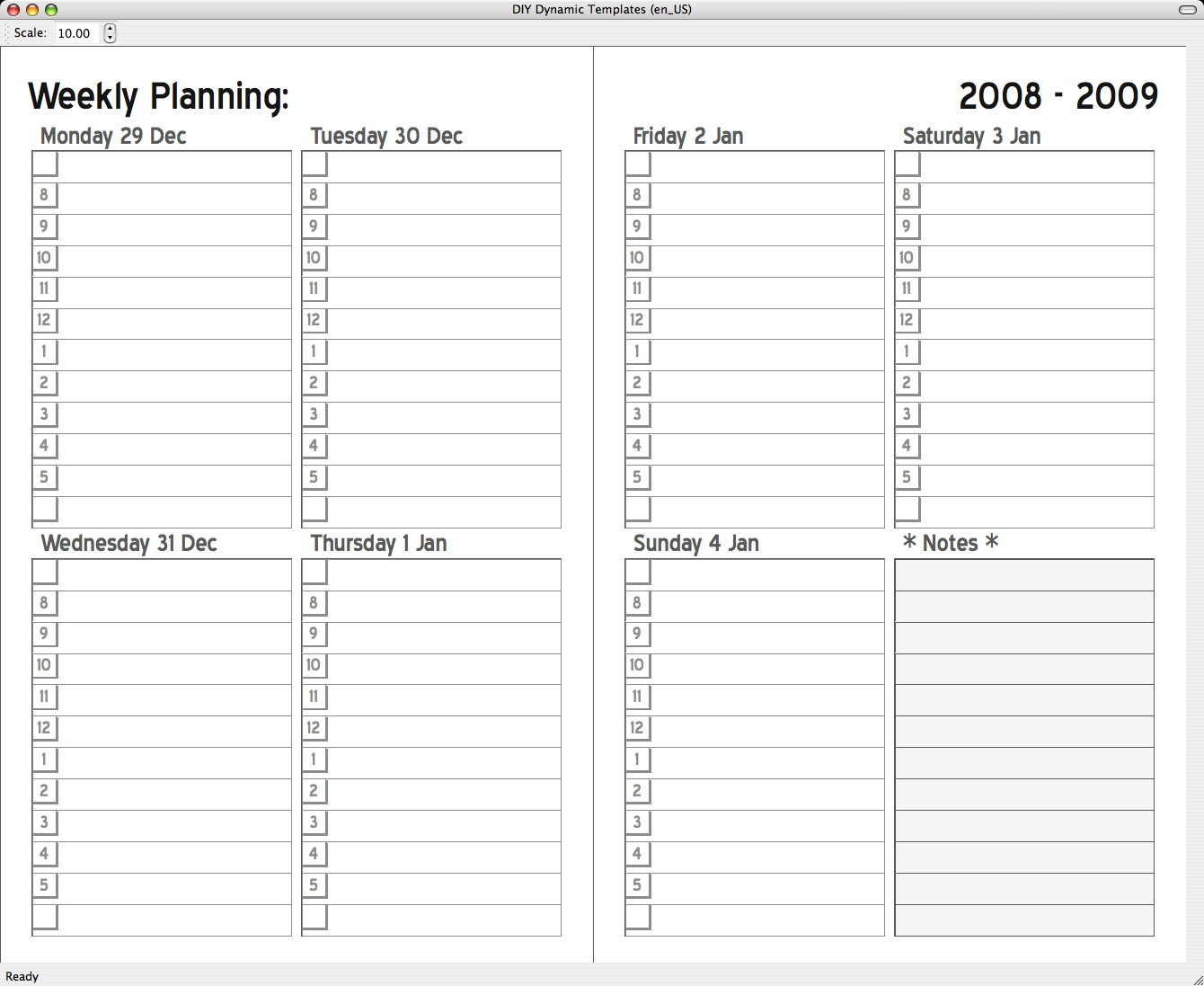 Schedule Template Pages – Printable Schedule Template in Printable Schedule Template For Pages