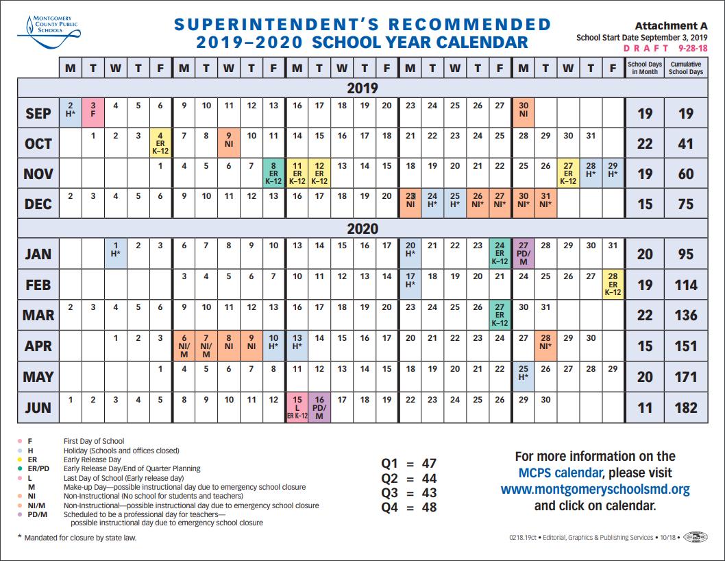 School Board To Vote On 2019-2020 School Year Calendar Tuesday inside Ewish Calendar 2019 - 2020