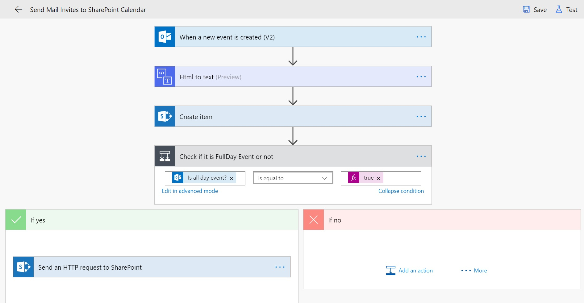 Send Meeting Invites To Sharepoint Online Calendar - Cloud Decoded regarding Flow Template To Copy Dates From Sharepoint Calendars