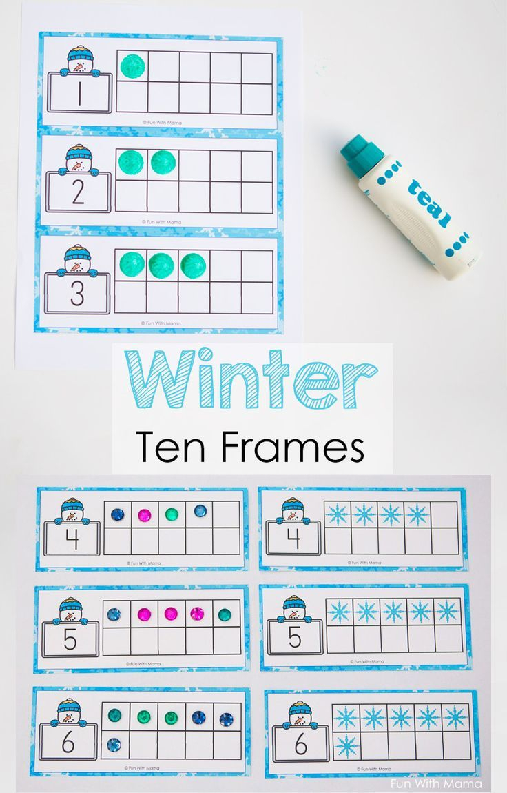 Snowman Winter Ten Frame Printable | Winter Theme Activities For regarding Number Ten Template For First Grade