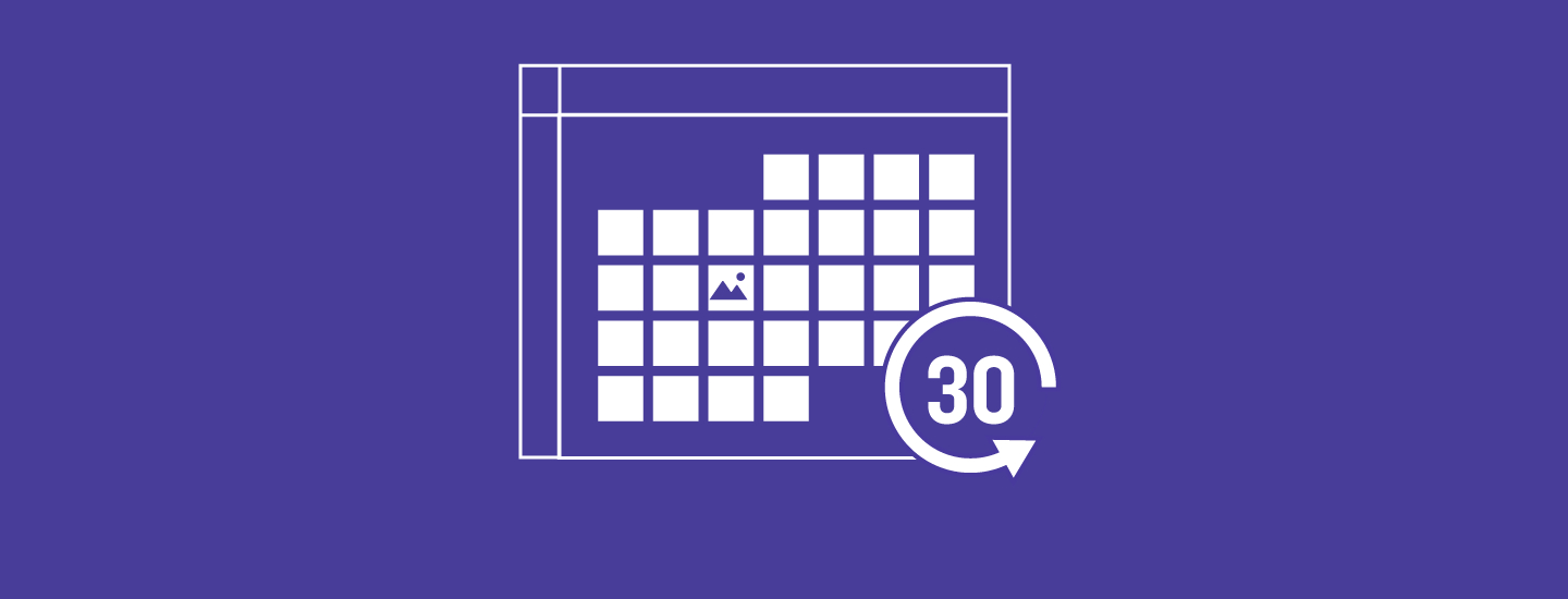 The 30-Day Social Media Plan [Template] | Sprout Social regarding 60 Days Challenge Template Calender