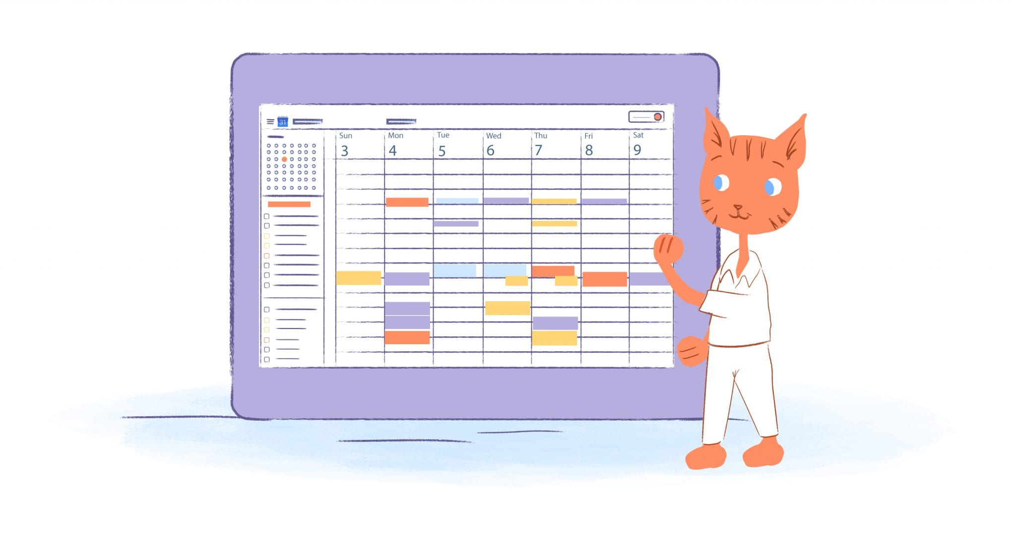 The Ultimate Guide To Google Calendar - Calendar pertaining to Blank Time And Date Calendar
