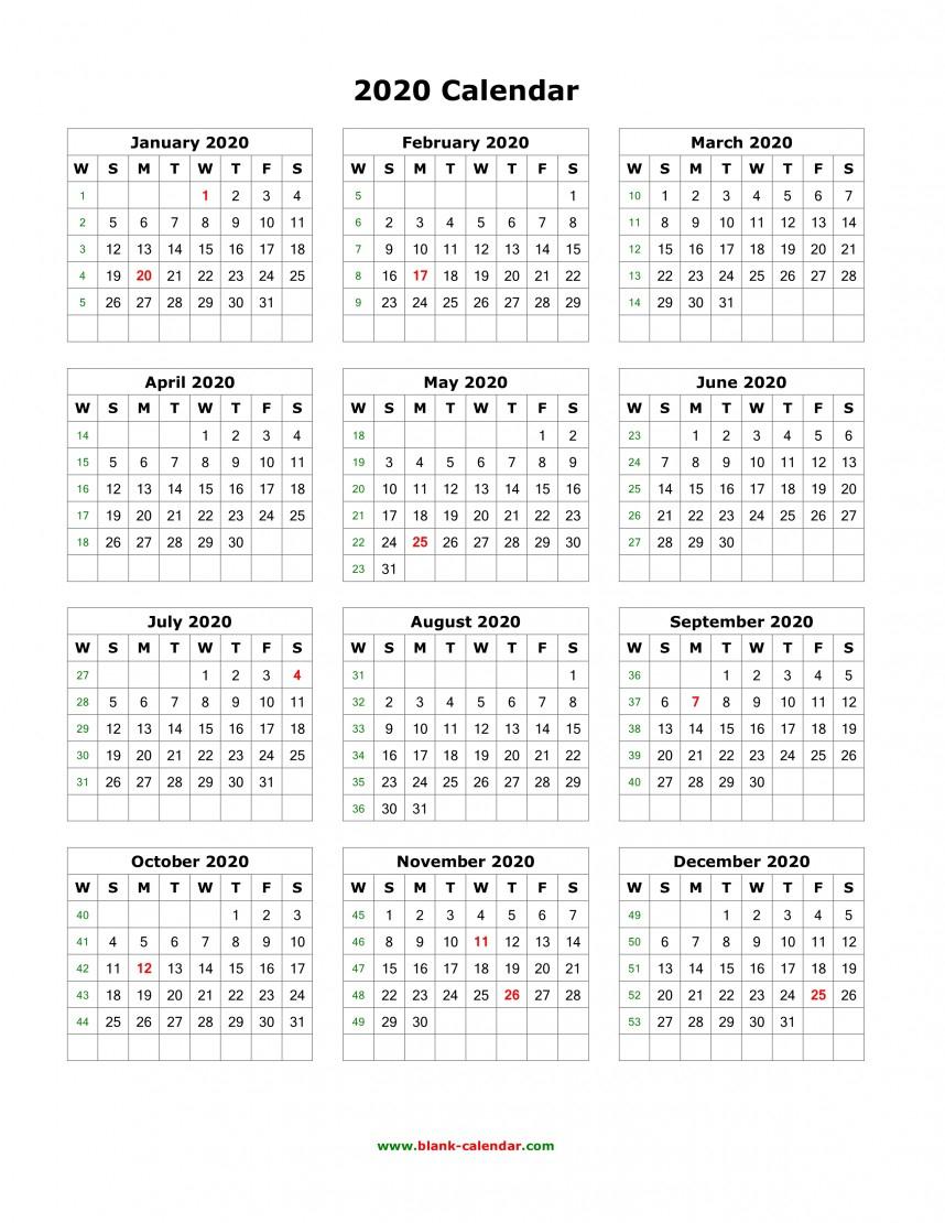Top 2020 Calendar Printable Word Monthly Template Quarterly regarding 2020 Printable Calendar Templates Quarterly