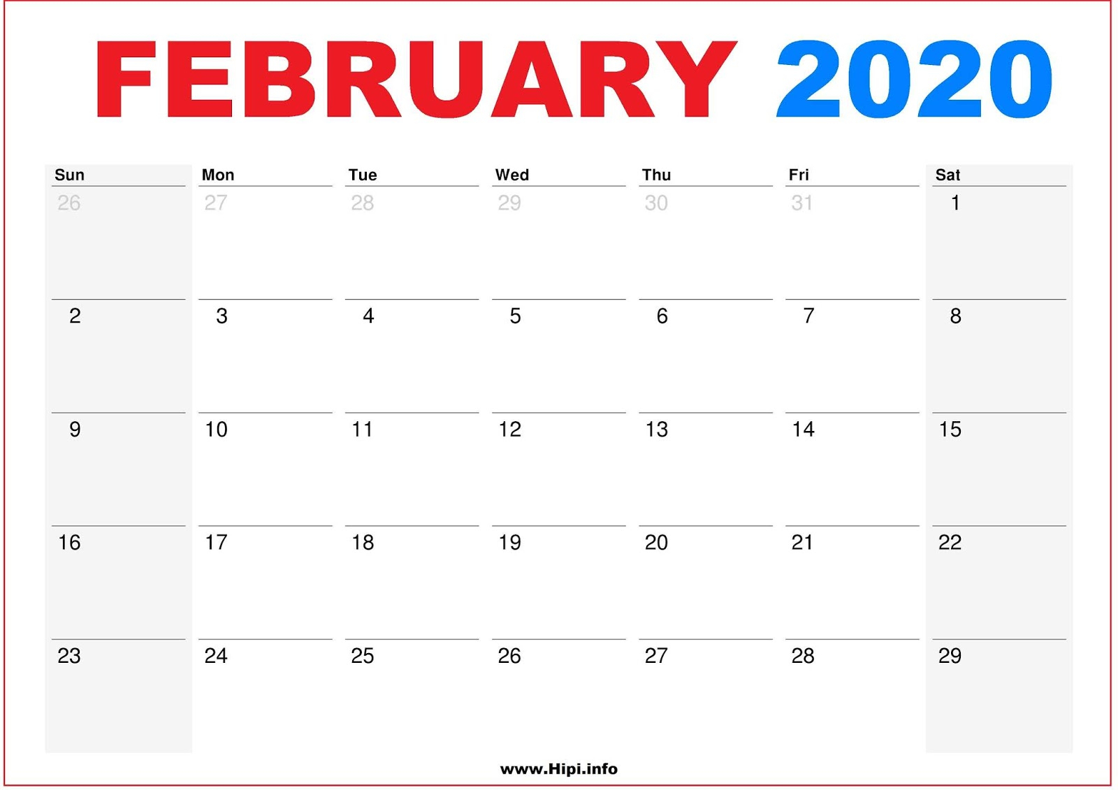 Twitter Headers / Facebook Covers / Wallpapers / Calendars: February with Free 8/2019 -5/ 2020 Printable Calendar