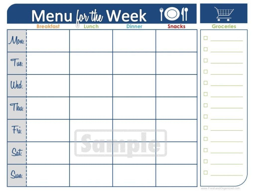 Two Week Printable Calendar | Blank Calendar | Meal Planner throughout Blank Two Week Calendar Template
