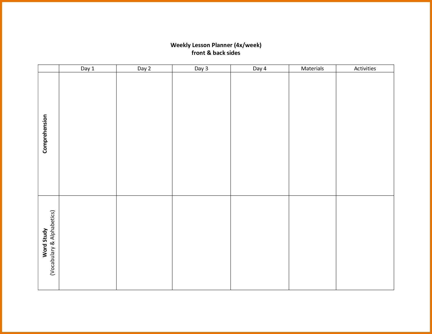 Two Weeks Calendar Template Week Impression So Printable For Two in Two Week Blank Calendar Template