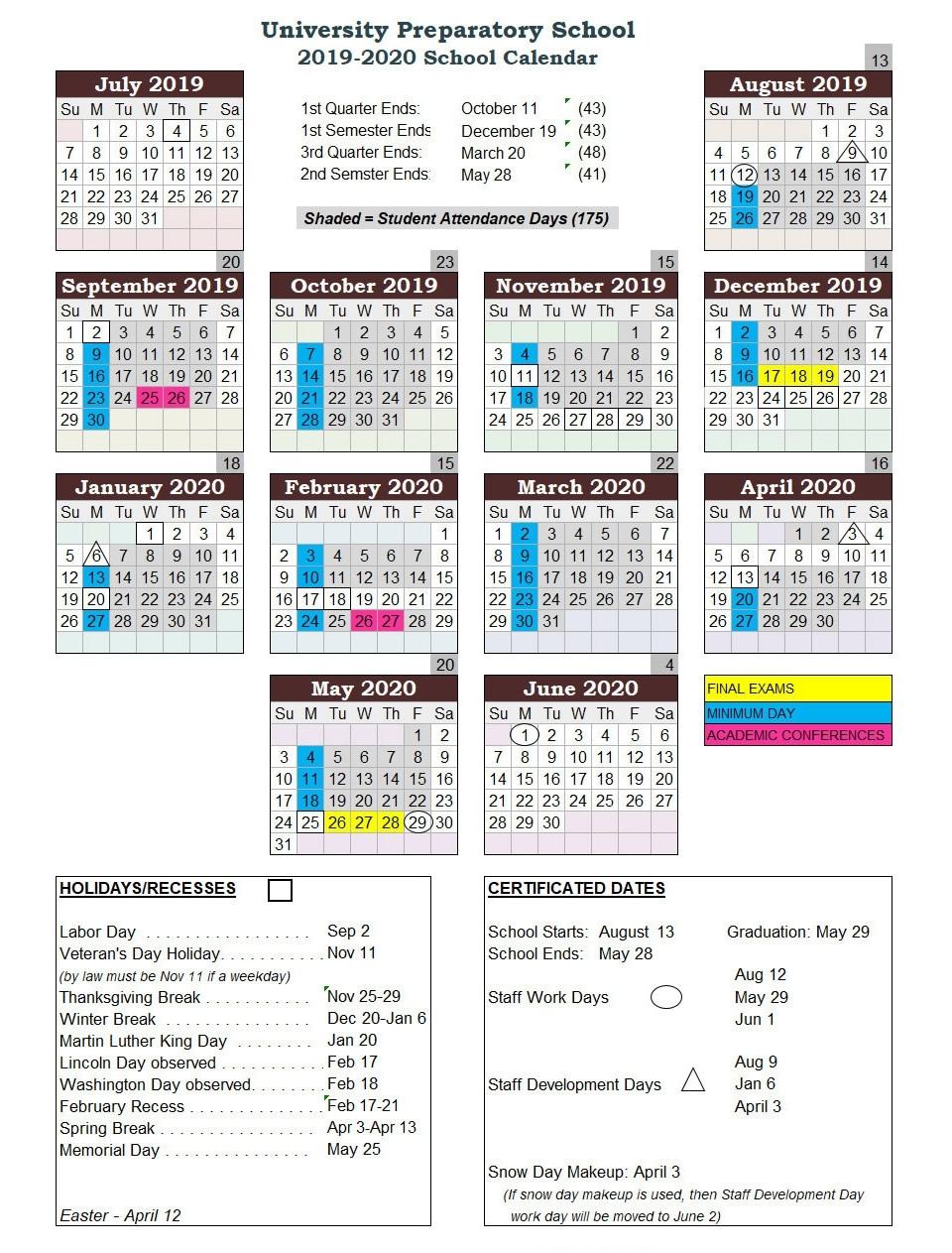 U Of M School Calendar 2020   Calendar Design Ideas for U Of M 2019 2020 Calendar
