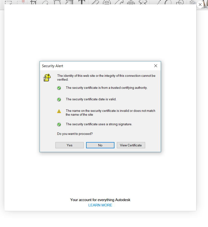 Unable To Log In, Fields Don't Show. - Autodesk Community regarding Blank My Account Information Logs