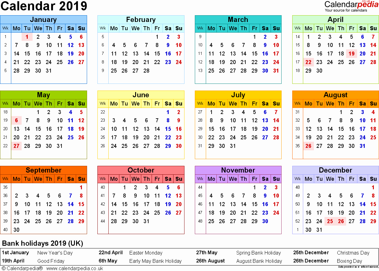 Unique 35 Sample Small Desk Calendar 2019 2020 | Shyampooja with Year At A Glance Calendar2019-2020 Free Printable