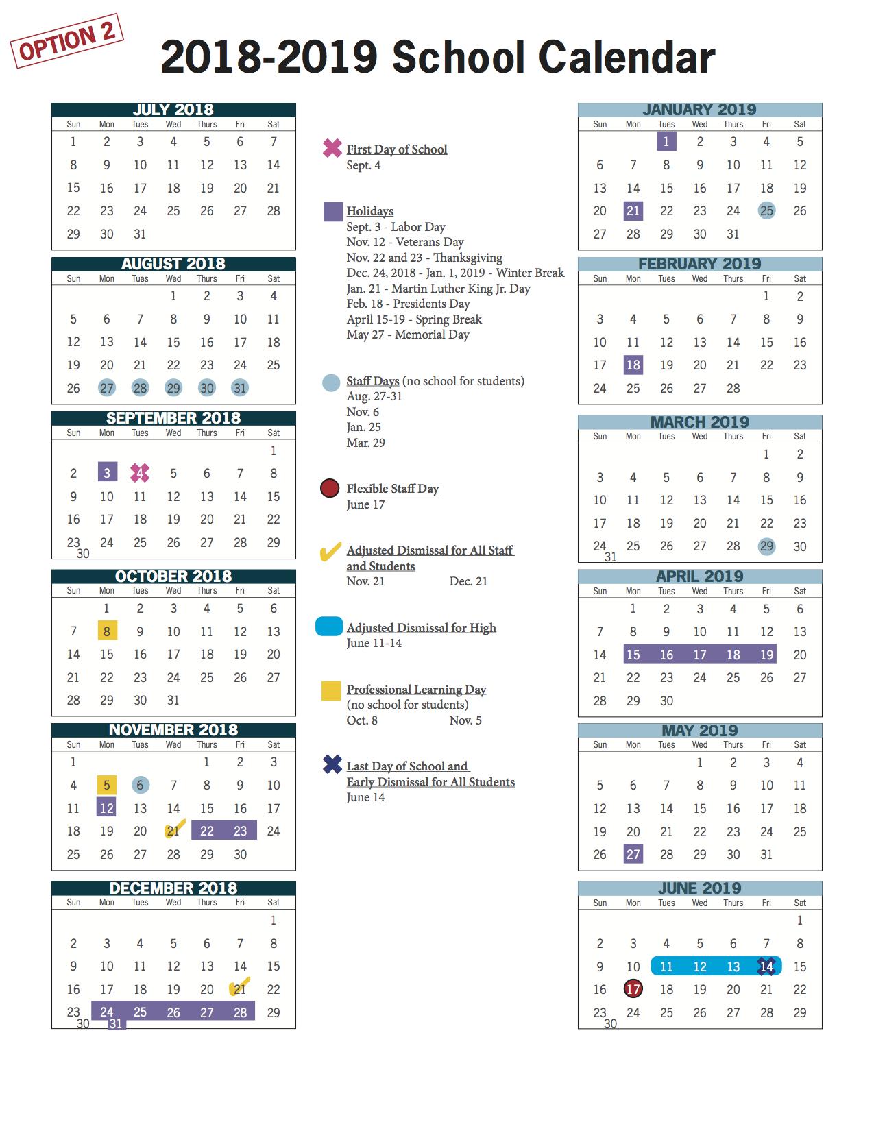 Vbcps E-Town Hall - 2018-2019 And 2019-2020 School Calendar Review regarding Year At A Glance 2019-2020 School Calendar
