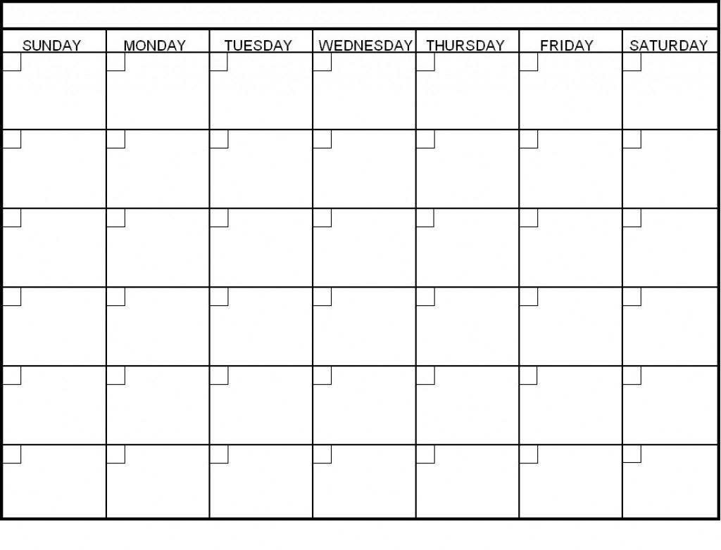 Week Blank Calendar Template Schedule Format Pdf   Smorad intended for Blank Calendar 6 Weeks Start On Sunday